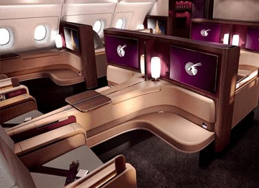 پرواز به qatar-airways-a-first-class